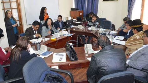 Sesión de la Comisión de Constitución de Diputados