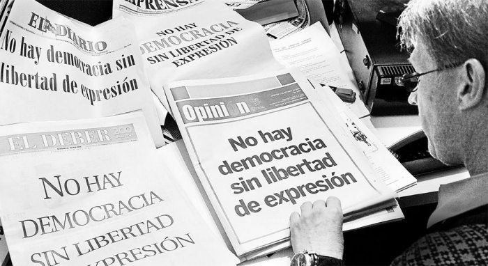 MEDIOS ESCRITOS DEFIENDEN LA LIBERTAD DE EXPRESIÓN,
