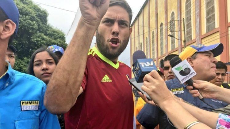 Juan Requesens fue detenido por el régimen de Nicolás Maduro