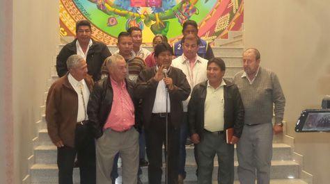 El presidente Evo Morales anuncia la rebaja del 20% en tarifas de electricidad en Beni.