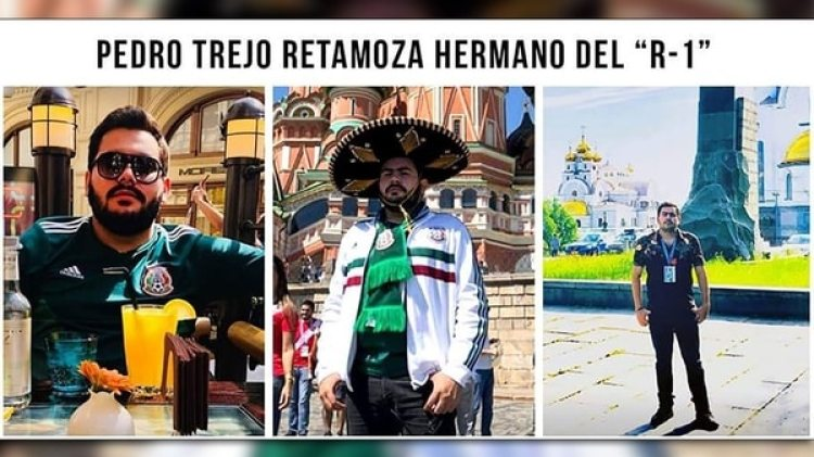 En sus redes sociales, Pedro Trejo se exhibió durante suviaje al Mundial de Rusia.