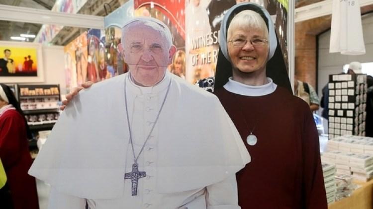 El papa Francisco visitará Irlanda el fin de semana (AFP PHOTO / Paul FAITH)
