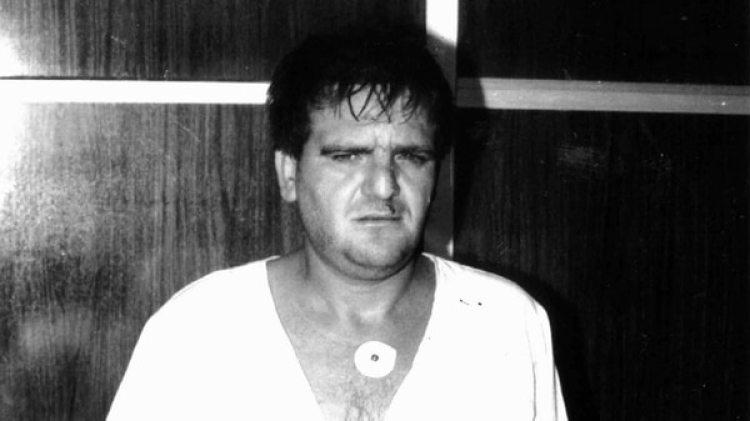 Palma Salazar en 1995, cuando fue detenido