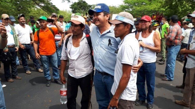 Medardo Mairena es coordinador del Consejo Nacional en Defensa del Lago, la Soberanía y la Tierra y miembro de la Alianza Cívica por la Justicia y la Democracia.