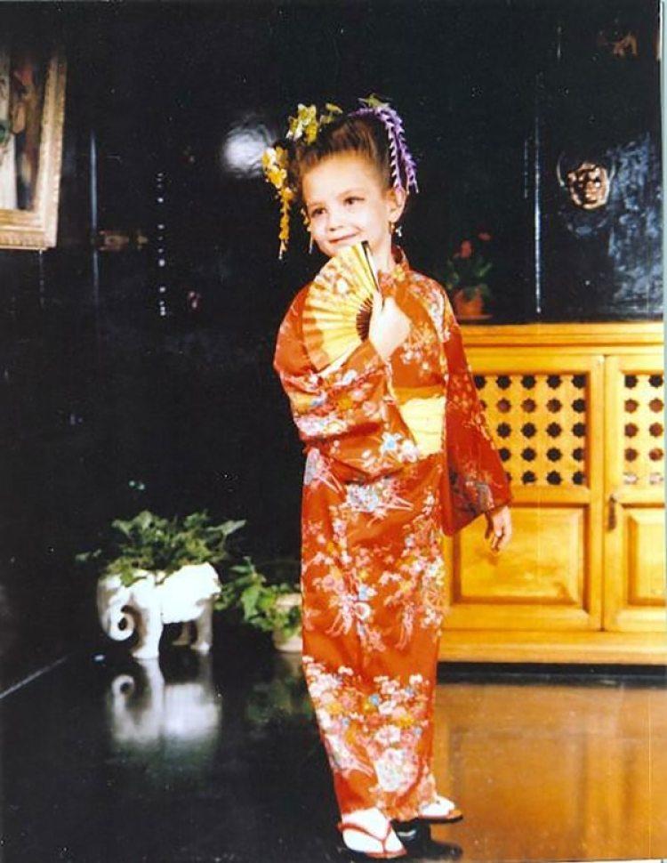 Thalía, en sus primeros años