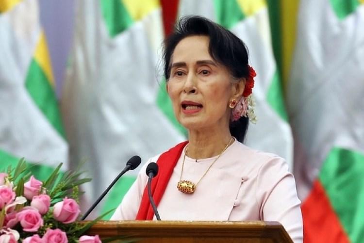 Aung San Suu Kyi (AP /Aung Shine Oo, File)