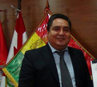 Oswaldo Valencia, exmagistrado del Tribunal Constitucional.