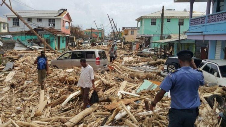 El huracán María hizo estragos en Puerto Rico