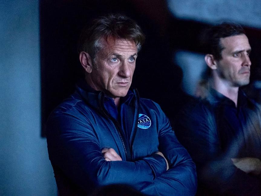 Sean Penn lidera la primera misión a Marte en el prometedor tráiler de
