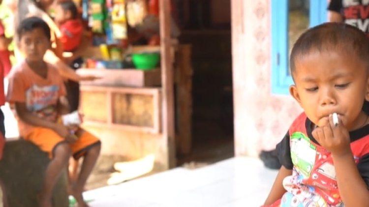 Rapi Ananda Pamungkas tiene solo dos años