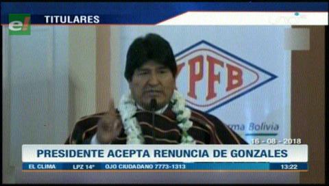Video titulares de noticias de TV – Bolivia, mediodía del jueves 16 de agosto de 2018