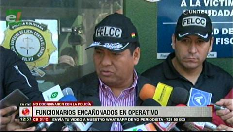 """Dirección Anticorrupción investiga """"atentado"""" contra la AJ en un operativo"""