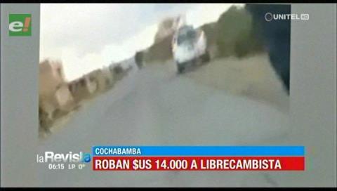 Cochabamba: 4 falsos policías arrebatan $us 14.000 a cambista en Tolata