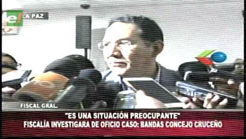 Fiscalia investigará el caso bandas del Concejo Municipal de Santa Cruz