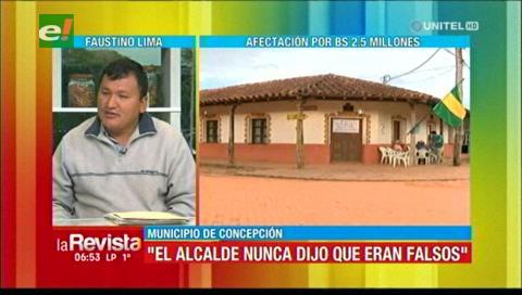 El MAS no cree en supuesta falsificación de la firma del alcalde de Concepción