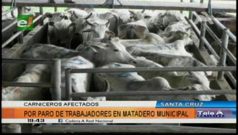 Santa Cruz: Paro en el Matadero Municipal genera pérdidas a carniceros