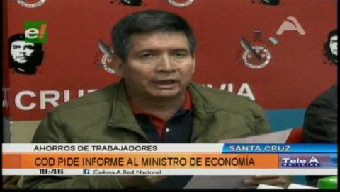 La COD de Santa Cruz llama a Guillén por el 'tema pensiones'