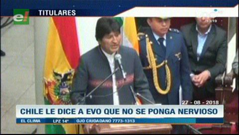 Video titulares de noticias de TV – Bolivia, mediodía del lunes 27 de agosto de 2018