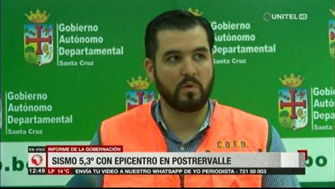 """La falla de """"Mandeyapecua"""" sería la causa del sismo en Santa Cruz"""