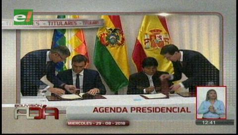 Video titulares de noticias de TV – Bolivia, mediodía del miércoles 29 de agosto de 2018