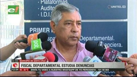 Nuevo fiscal revisará las denuncias de corrupción en la Alcaldía cruceña