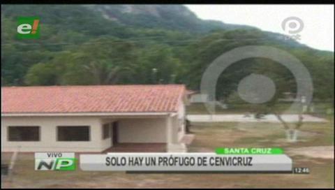 Intensifican búsqueda de prófugo de Cenvicruz