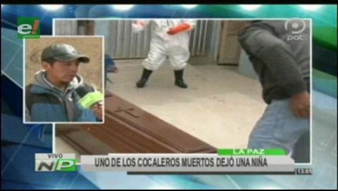 Cocalero que falleció en La Asunta dejó a una niña en la orfandad