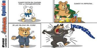 Caricaturas de Bolivia del domingo 12 de agosto de 2018