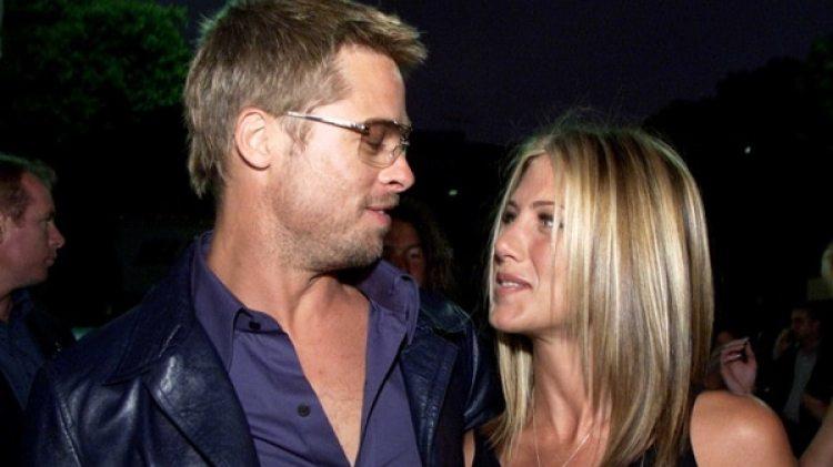Brad Pitt y Jennifer Aniston juntos en Italia