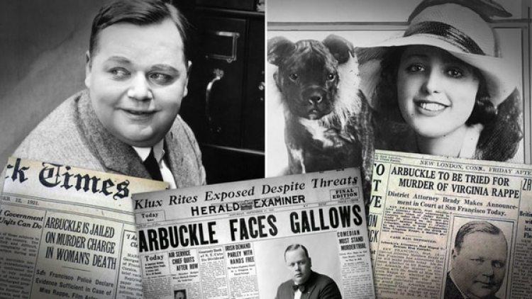 El primer gran escándalo sexual de Hollywood tuvo lugar en 1921