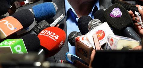 Medios de Comunicación Foto: La Razón