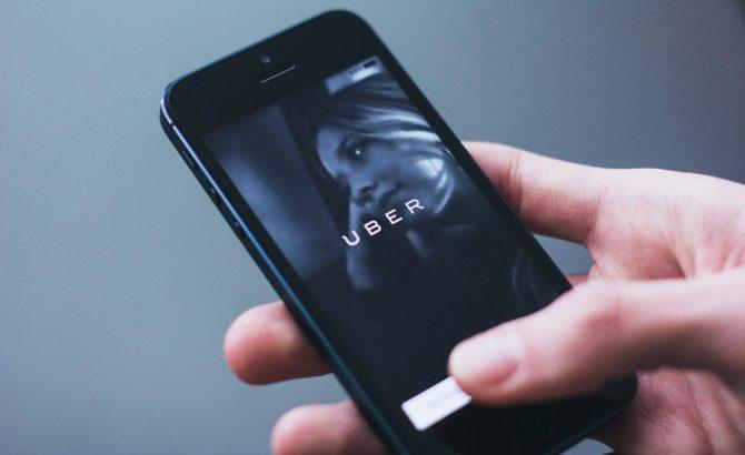 Uber utilizará tu smartphone para detectar choques
