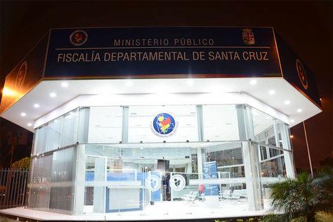 Oficinas de la Fiscalía Departamental de Santa Cruz.