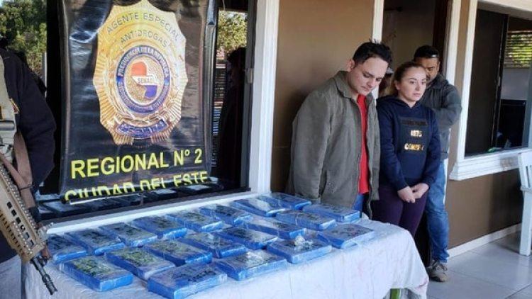 El SENAD estuvo a cargo del operativo contra el narco