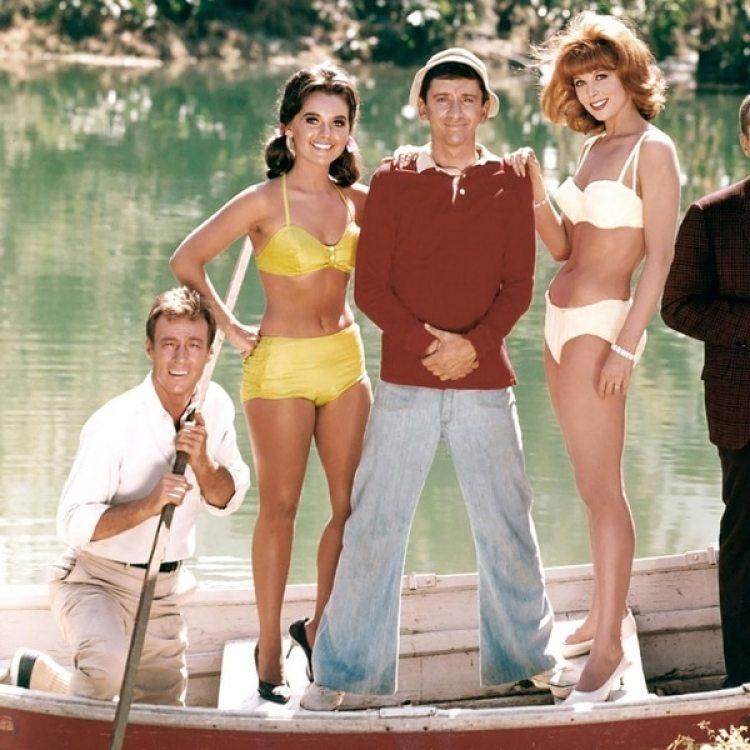 La Isla de Gilligan fue emitida por CBS desde 1964 hasta 1967