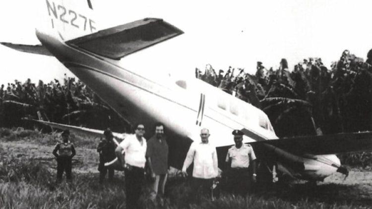 Así quedó el avión de Jorge Luis Valdés cuando cayó en Panamá