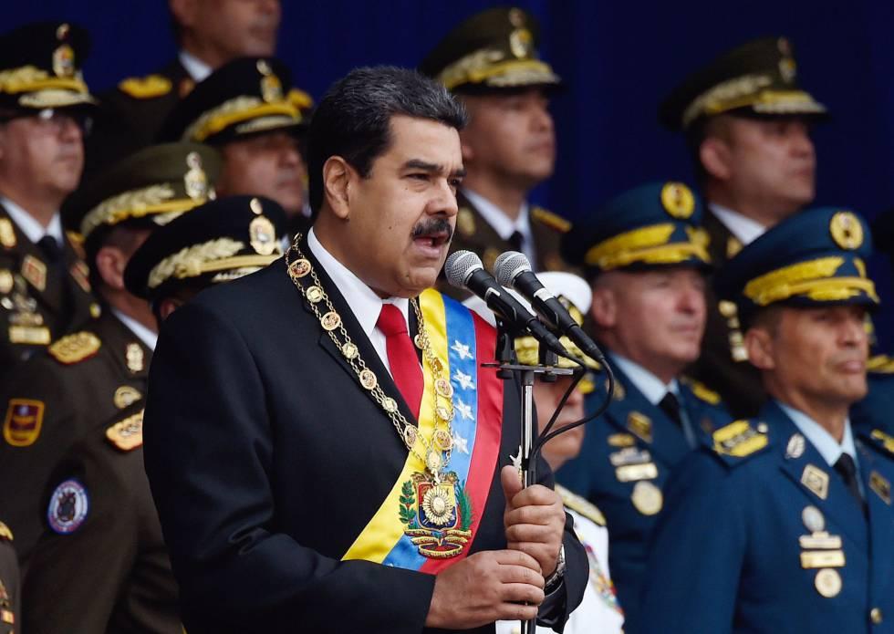 Grupo militar estaría contra Maduro — Venezuela