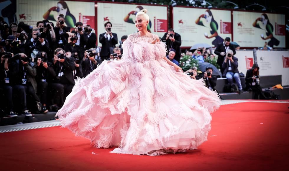 Lady Gaga, en el Festival de Venecia.