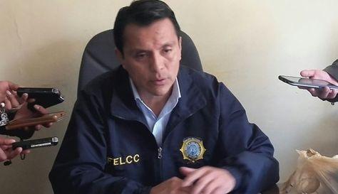 Mayor Juan José Millán, jefe de la División Propiedades de la FELCC.