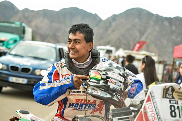 Fabricio Fuentes viajará a Perú para participar en el Dakar Series
