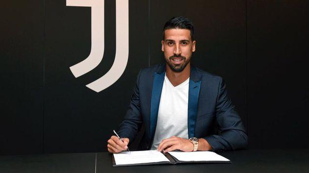 Juventus renovó contrato a Sami Khedira hasta 2021