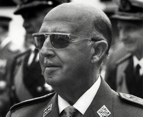 Una imagen de octubre de 1967 en Madrid del Jefe de Estado español y el dictador Francisco Franco. Foto: Archivo AFP