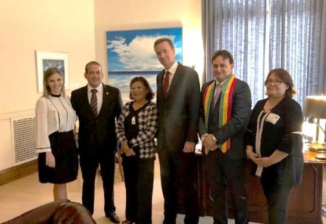 21F-en-la-OEA,-activistas-se-reunen-con-el-jefe-de-Gabinete
