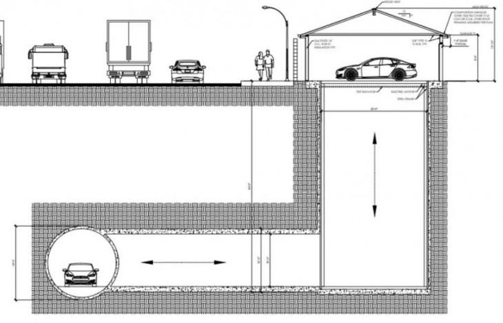 garaje subterráneo