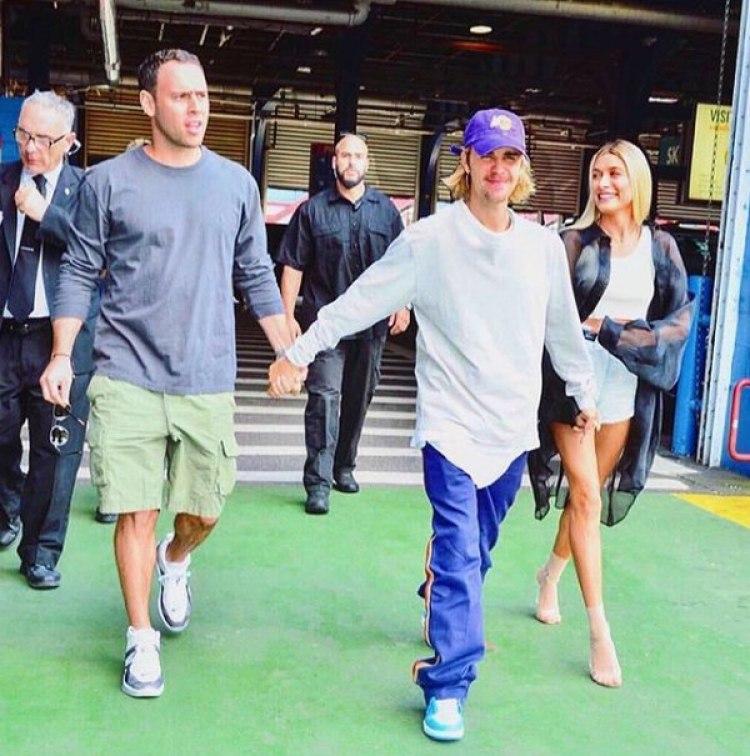 Justin Bieber y Scooter Braun tienen una entrañable amistad