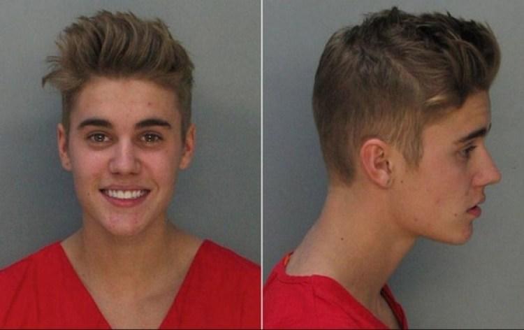 Justin Bieber fue arrestado en Miami por manejar bajo la influencia