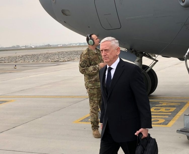 El Secretario de Defensa estadounidense Jim Mattis (REUTERS/Phil Stewart)