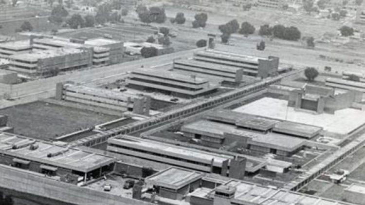 Así lucía Santa Martha Acatitla al comenzar a operar como la cárcel de máxima seguridad del país.