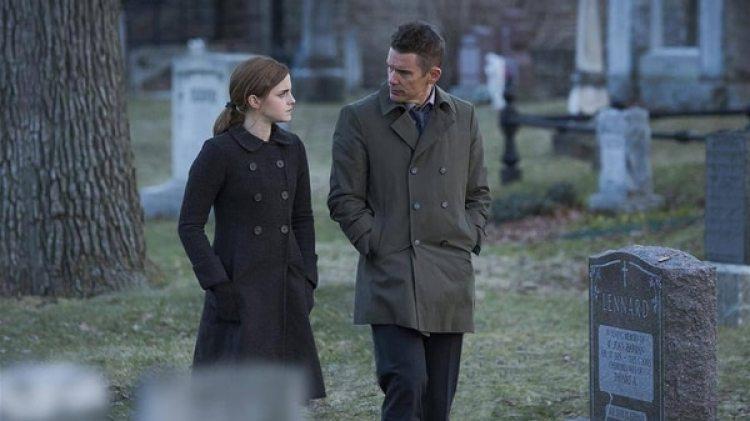 """Ethan Hawke y Emma Watson em """"Regression"""" (2015)"""