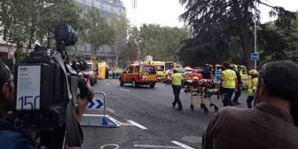 Un muerto y al menos 11 heridos en un derrumbe en las obras del hotel Ritz en Madrid